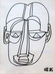 Untitled [Head] 1985 [W_P]#1AB0