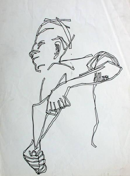 Untitled [Man Seen from Below] (1985_) [W_P]#4EC3