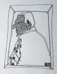 Untitled [Man in Frame] 1985 (_) [W_P]#7DB8