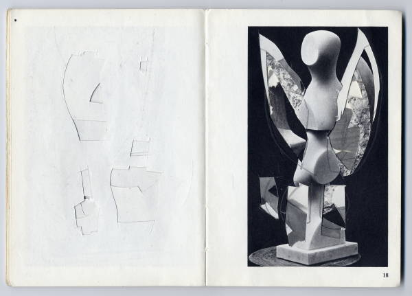 Untitled [altered Arp book] (1977?) [3_M]#F1A6