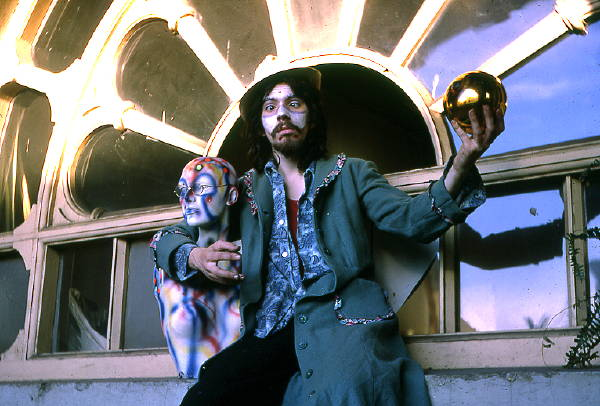 Arkley in masquerade 1973