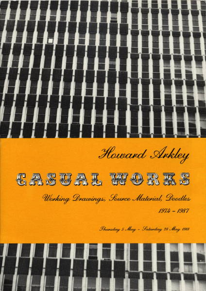 Casual Works 1988 cat.cover