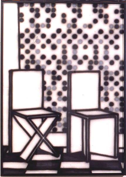 Chair tableau 1988 [W_P]#03E3