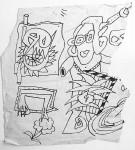 Fragmentary sketch, c.1981?