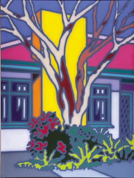 House with Native Tree [Rolfe] 1996