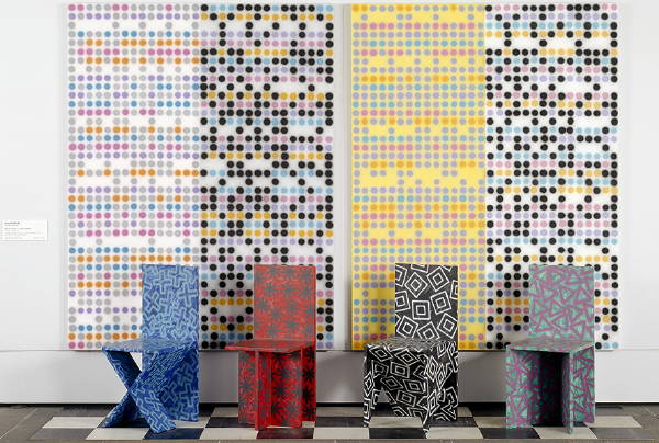 Muzak Mural Chair T (1980-81) [3_M]#71CB