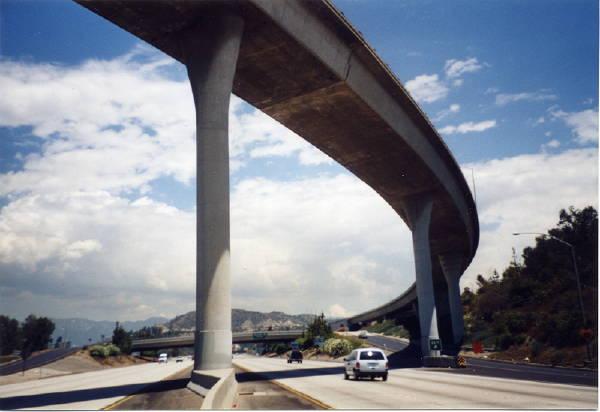 Photo of LA freeway