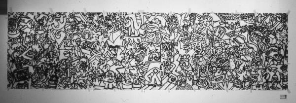 Primitive [mural] (1981) [W_P]#1C1E