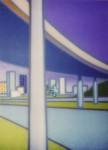 Rialto Freeway Painting 1998