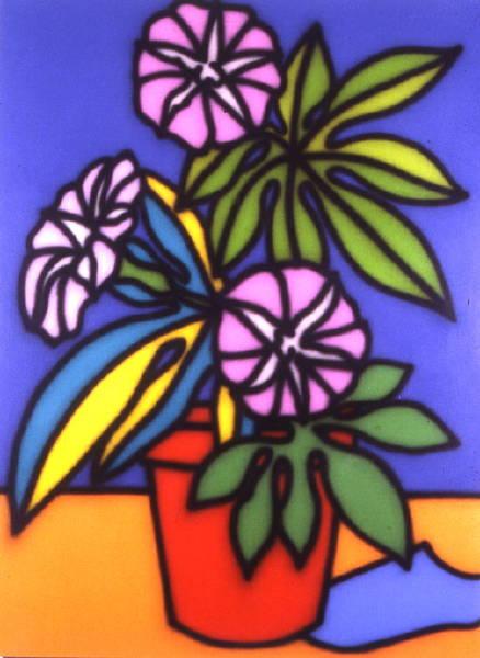 Still Life Petunias 1987