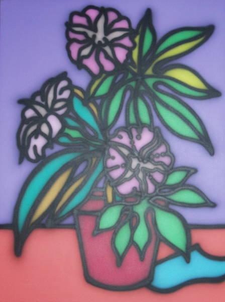 Stillife Petunias 1997