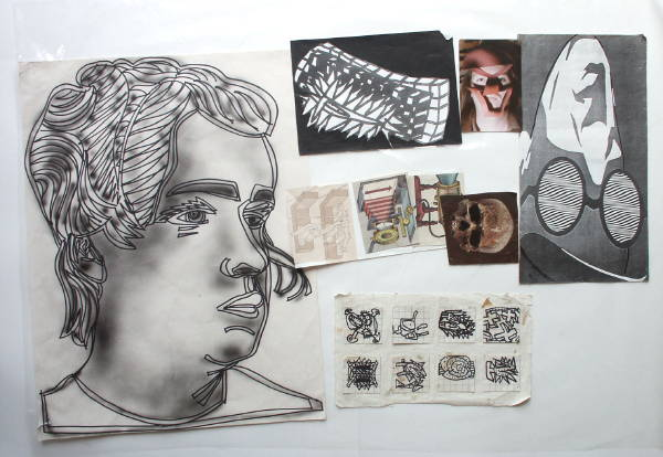 Tattooed Head source material (A)