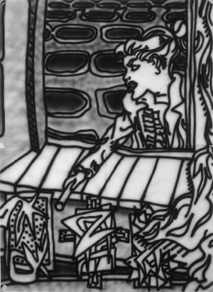 Untitled [Felony study] (1982) [W_P]#1358