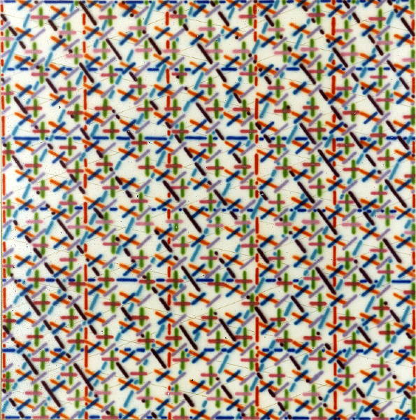 Untitled [Geometric patterning] (1981?)