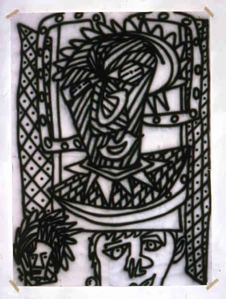 Untitled [Icon study #2] (1982) [W_P]#8A51