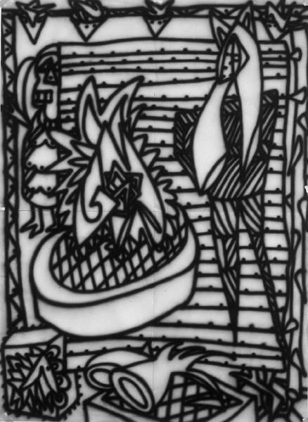 Untitled [Model study #2] (1982) [W_P]#3904
