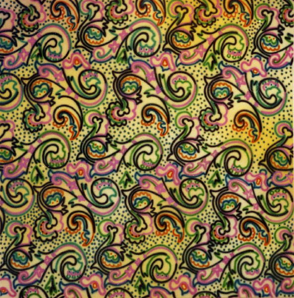 Untitled [Paisley pattern?] (1981?)