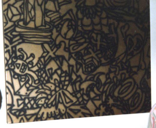 Untitled ['Primitive Gold'?] (1981?)