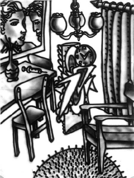 Untitled [Suburban study] (1982) [W_P]#4E0F