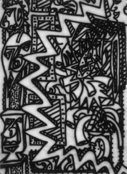 Untitled [Zappo study #2] (1982) W_P#FD3F