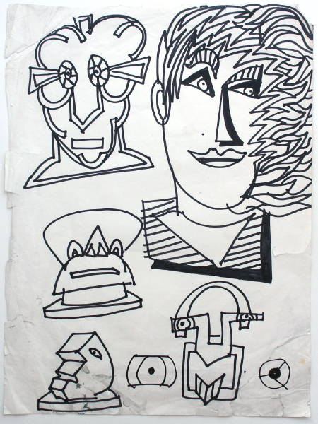 Untitled sketch, c.1982