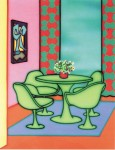 Dining in a Glow 1993