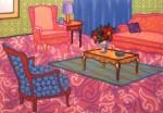 Floriated Room 1993