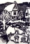 Tudor Village B_W 1994#9648