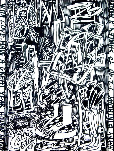 Untitled [Birthday drawing] 1990 [W_P]#0FD7