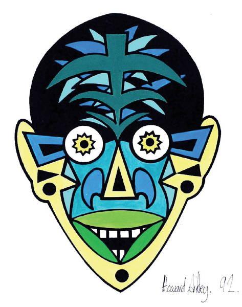 Zappo Head [screenprint] 1991