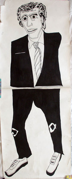 Untitled (Man in Suit) (1985?) [W:P] copy