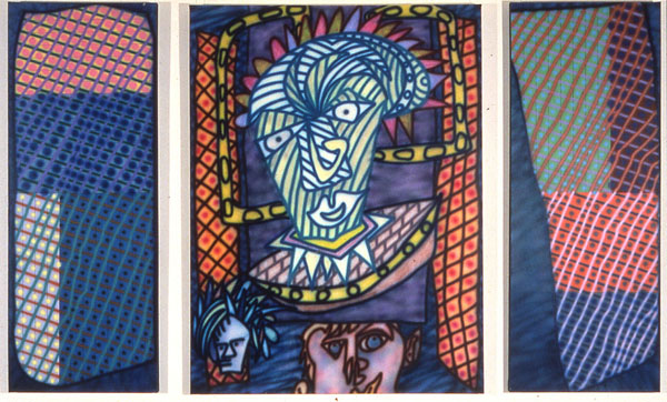 Icon (Triptych) 1983