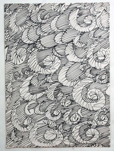 'Paisley' sketch 1