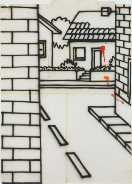 Untitled (Nubrick study) (c.1986) [W:P] copy